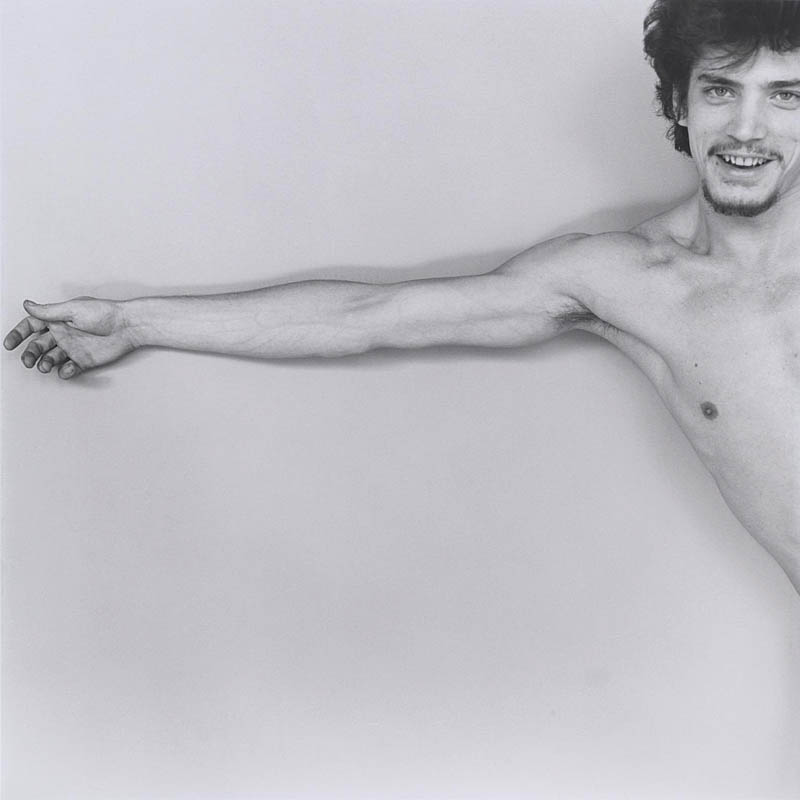 Robert Mapplethorpe, Self-Portrait, 1975