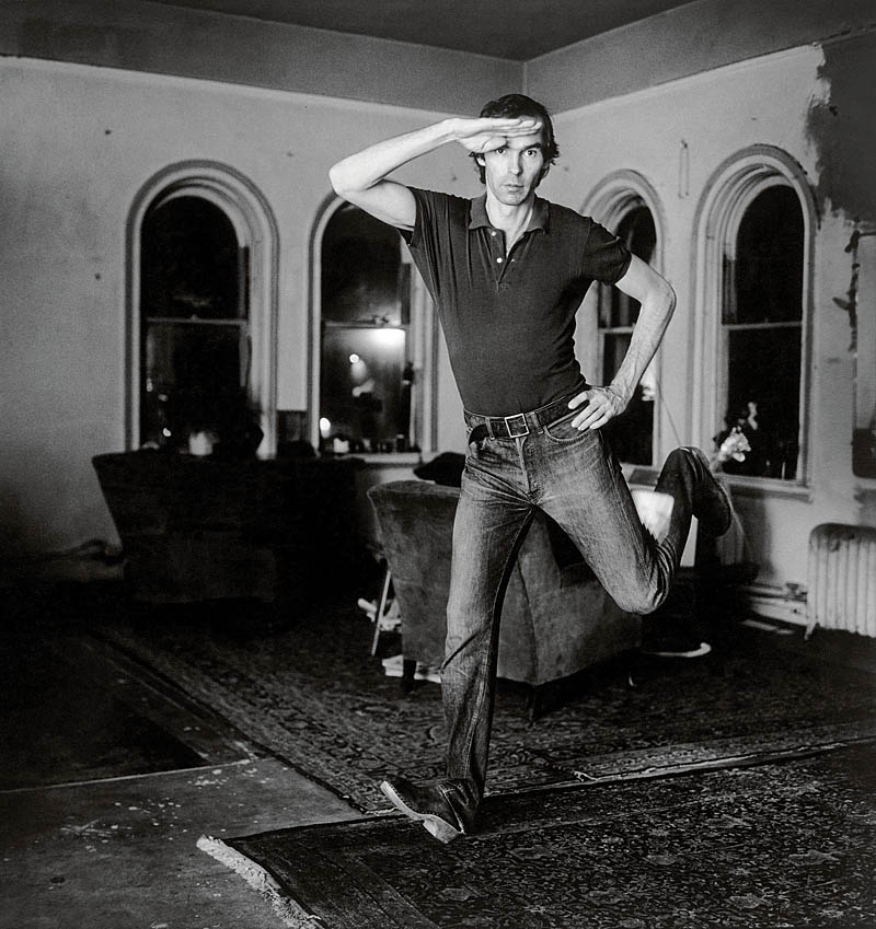 Peter Hujar, Self-Portrait Jumping