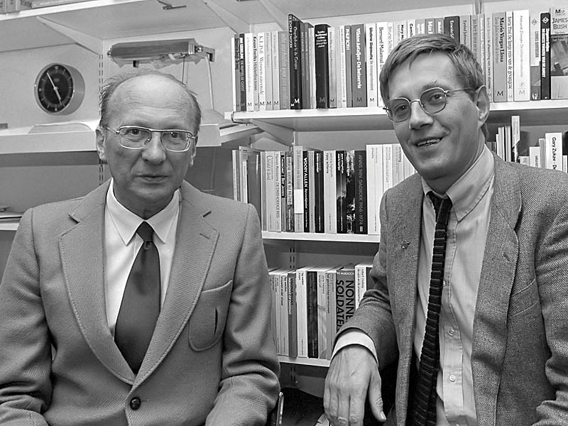 Hans Warren with Bert Bakker