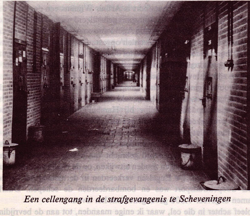 Cell block in the Scheveningen prison