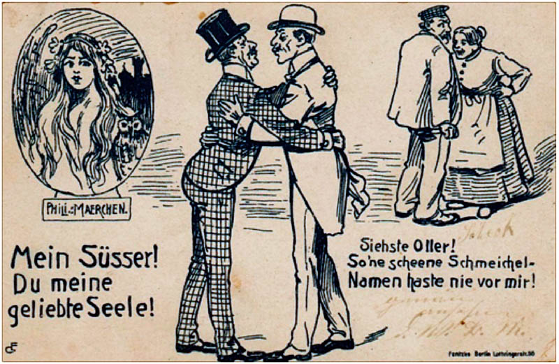 German spoof card Phili: Fairy Tale about Prince Philip