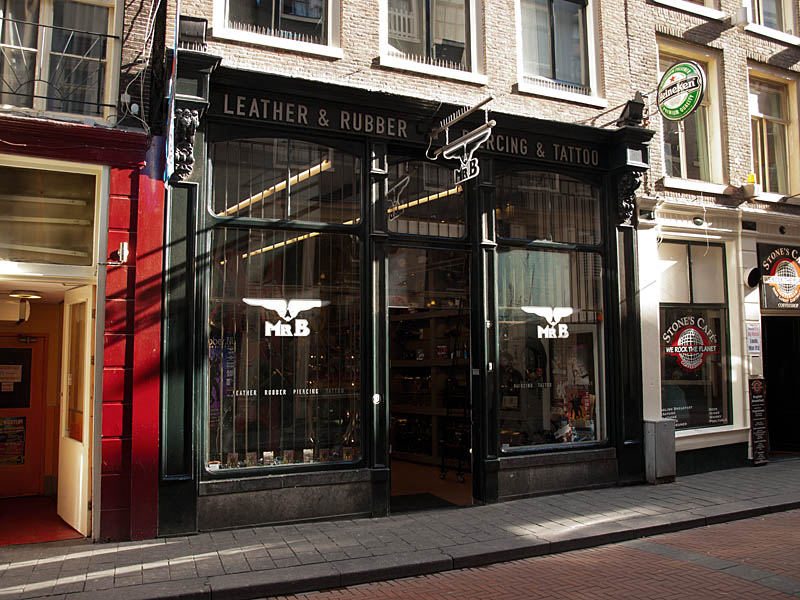 The first shop at Warmoesstraat