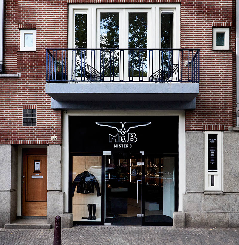 The new store at Prinsengracht