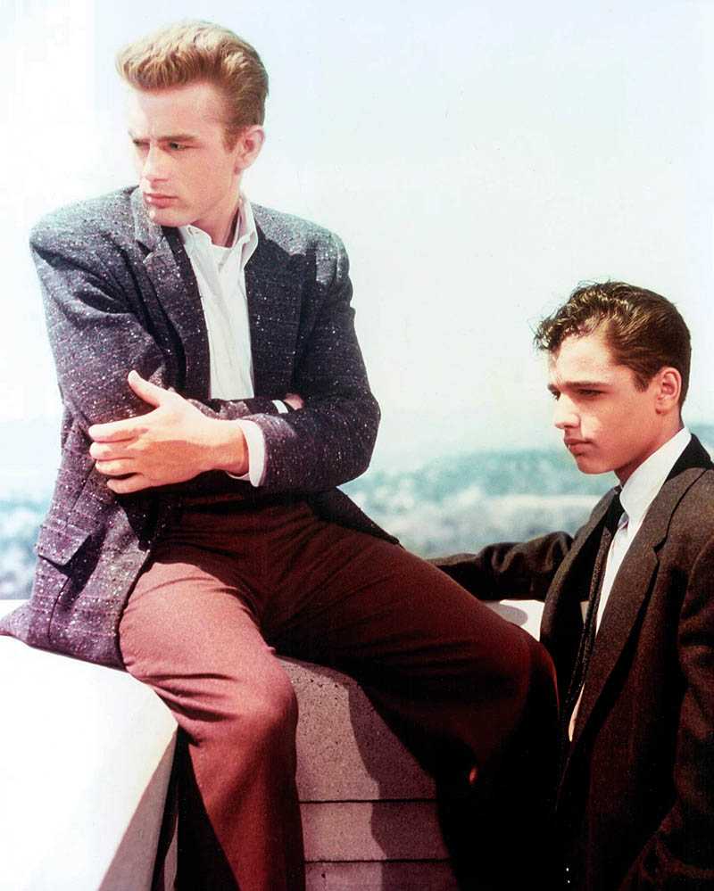 James Dean en Sal Mineao, Rebel without a Cause