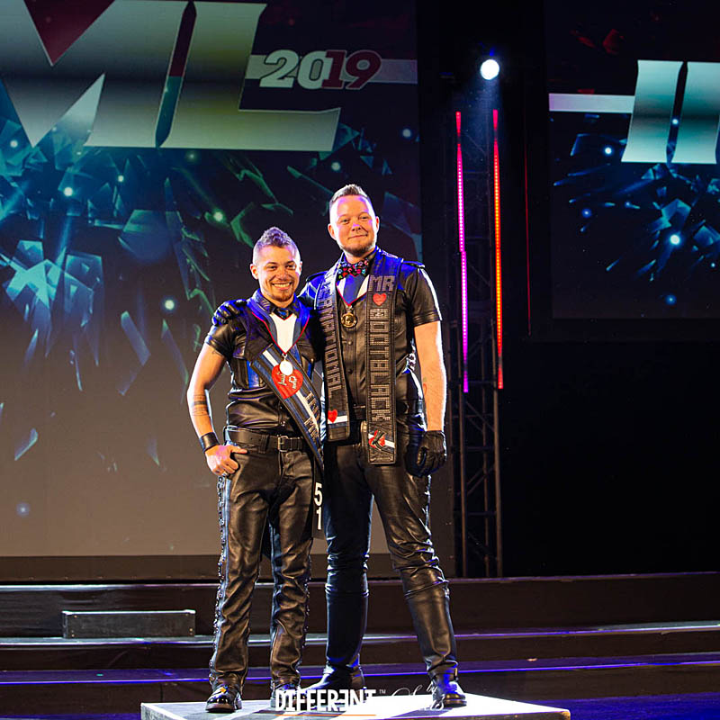 Mister Bootblack 2019 met International Mister Leather