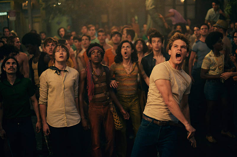 Scene from Roland Emmerich's 2015 movie Stonewall