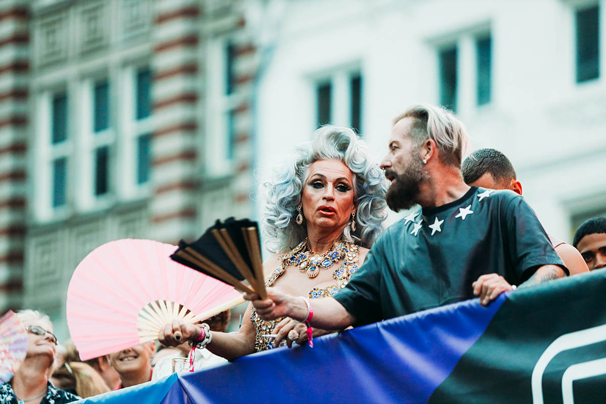Closing party Pride Amsterdam 2019 op de Dam
