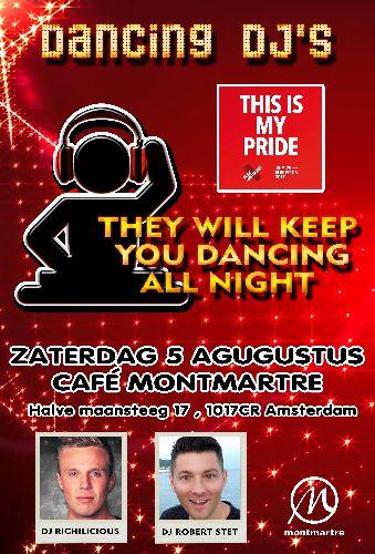 Gaypride Zaterdag 5 Aug, Saturday Aug 05