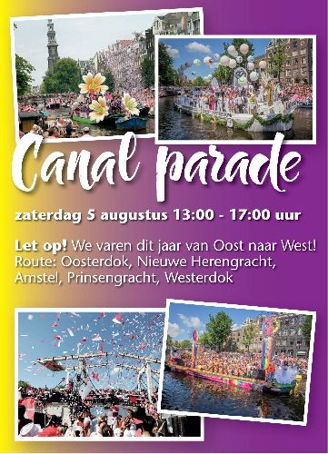 Canal Parade, Saturday Aug 05