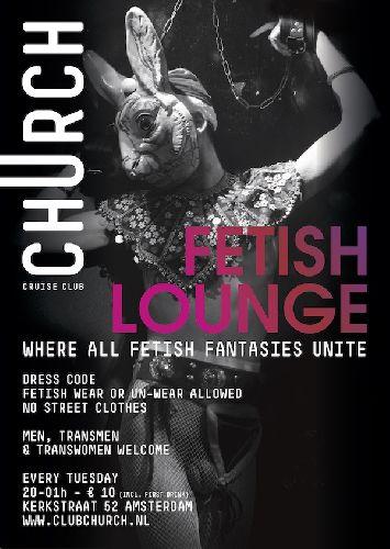 Fetish Lounge, Tuesday Aug 01
