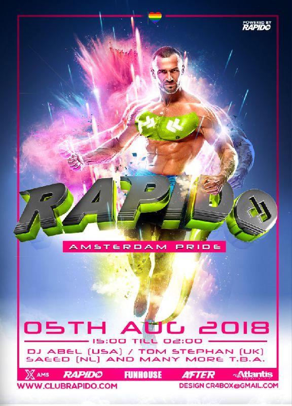Rapido Pride , Sunday Aug 05