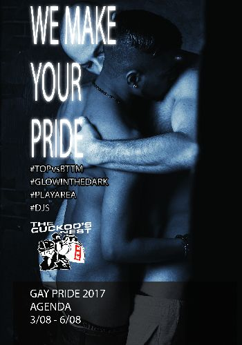 We Make Your Pride, Thursday Aug 03