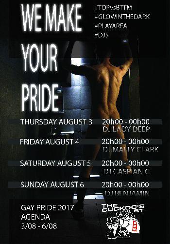 We Make Your Pride, Sunday Aug 06