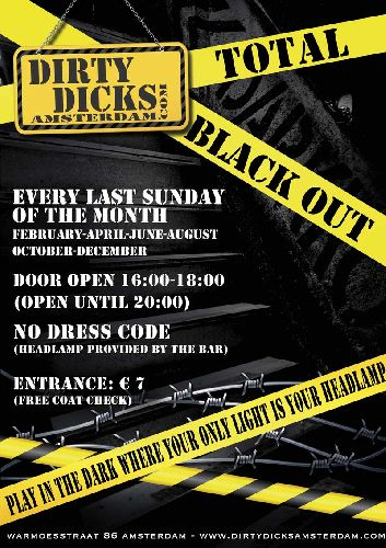 Total Black-Out, Sunday Oct 29