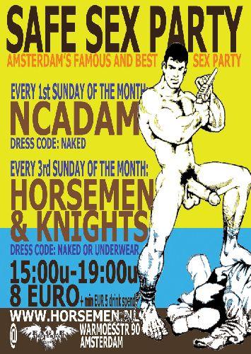 NCAdam Pride safe sex party, Sunday Aug 06