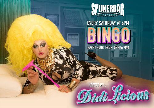 Bingo with Miss DiDi Licious, Saturday Oct 28