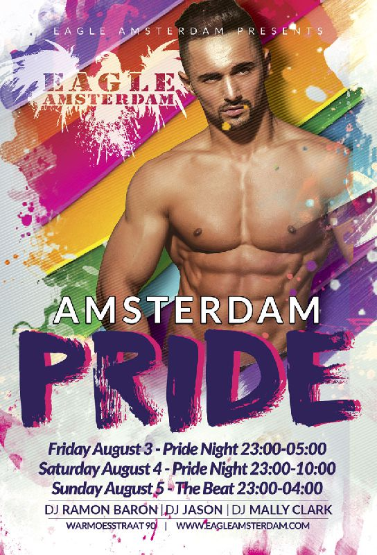 Pride Night & AFTER, Saturday Aug 04