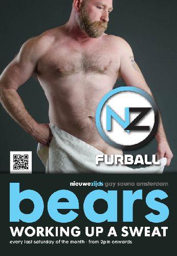 Bears at Sauna Nieuwzijds, Saturday Jul 29