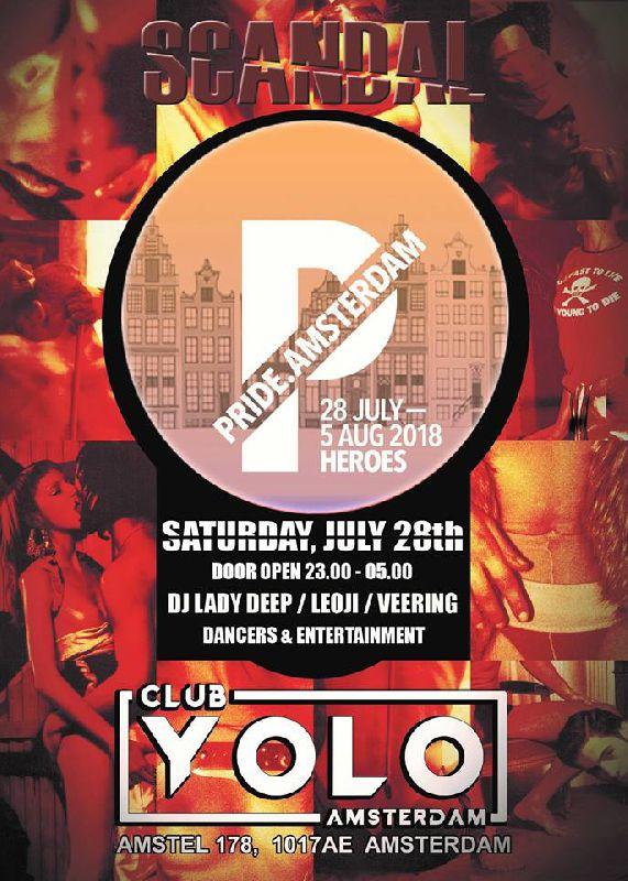 Scandal Ibiza - Pride Edition, Saturday Jul 28