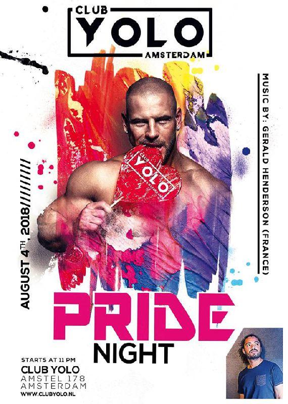 PRIDE Night, Saturday Aug 04