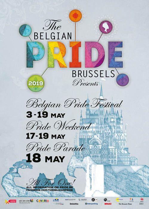 The Belgian Pride, May 17- May 19, 2019