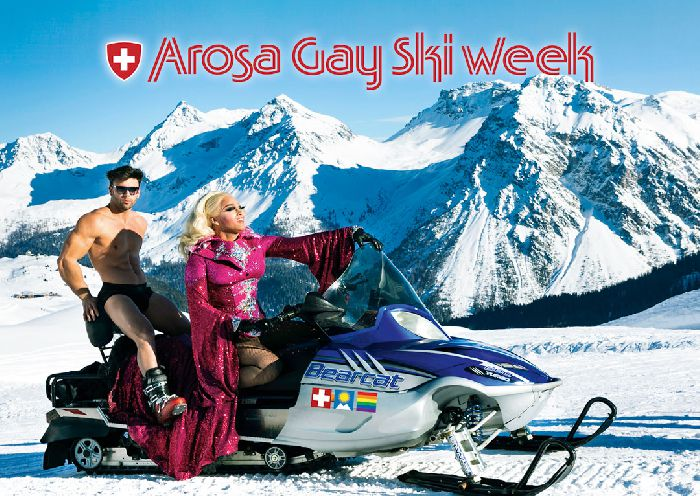Arosa Gay Ski Week, Jan 18- Jan 25, 2020