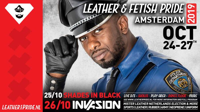 Leather Pride Amsterdam, Oct 24- Oct 27, 2019