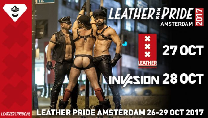 Amsterdam Leather Pride, okt 26- okt 29, 2017