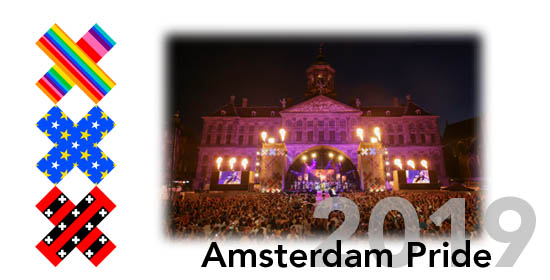 Amsterdam Gay Pride, July 27- August 04, 2019