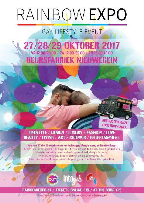 Rainbow Expo, October 27- October 29, 2017