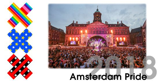Amsterdam Gay Pride, jul 28- aug 05, 2018